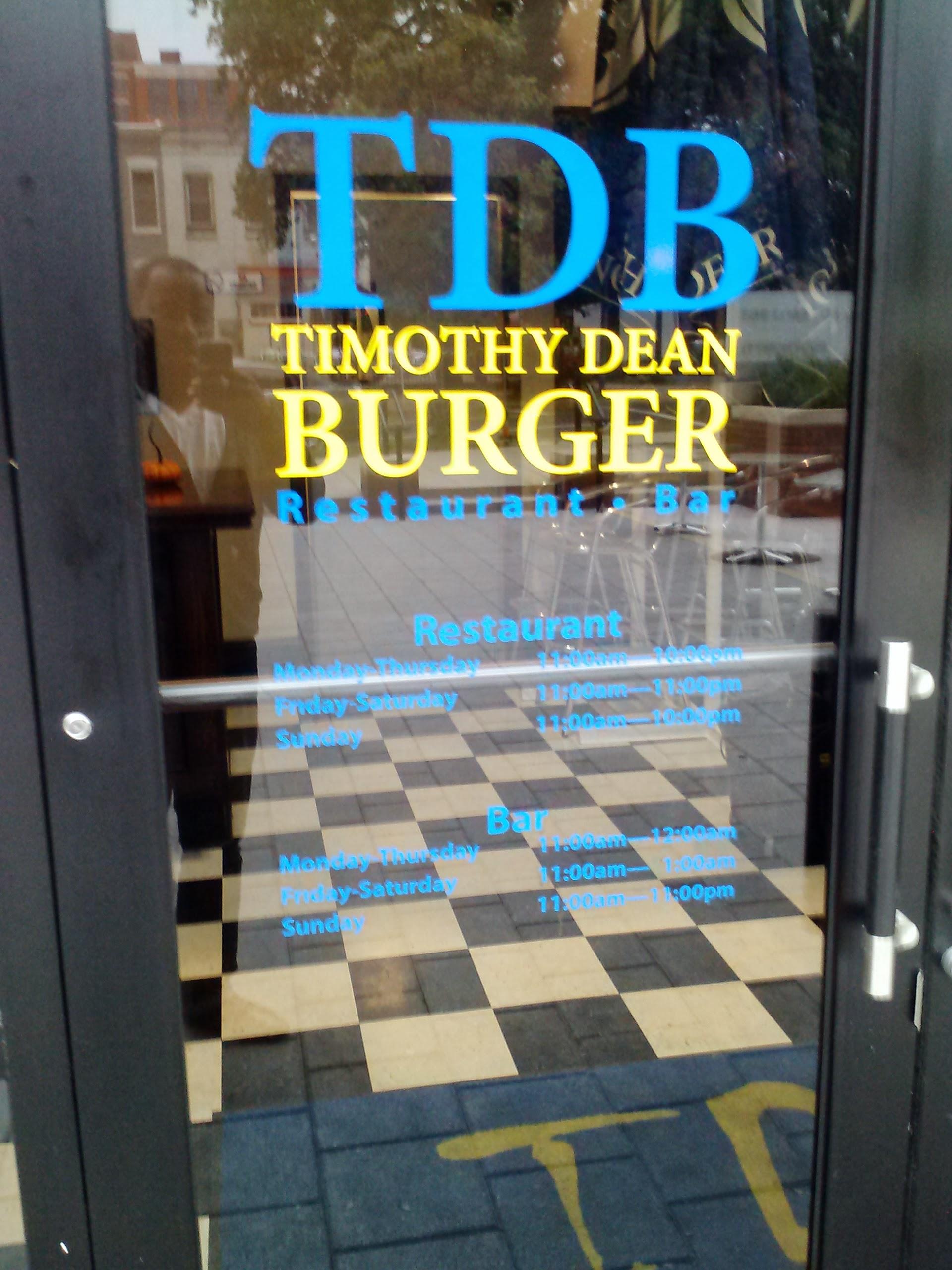 TDB Burger